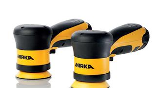 Mirka incorpora a su catálogo dos pulidoras inalámbricas