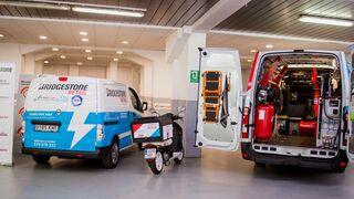 First Stop incorpora vehículos-taller eléctricos con cargadores de emergencia a su flota