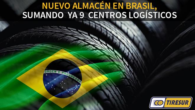 Tiresur abre un nuevo almacén en Brasil