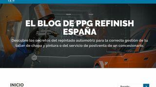 PPG crea un nuevo blog para expertos en chapa y pintura