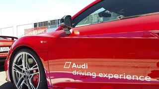 Pirelli equipa los modelos de Audi para su escuela de conducción 2019