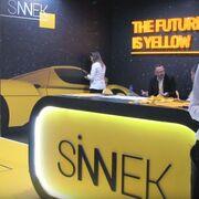 Sinnek se lanza a la conquista del mercado italiano en Autopromotec 2019