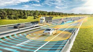 La pintura de la carrocería, elemento de seguridad para los coches autónomos