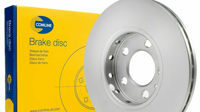 Comline cuenta con nuevos discos de freno revestidos