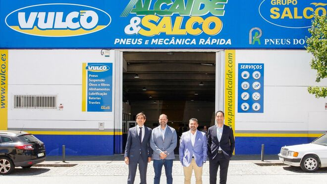 Vulco suma un nuevo taller en Oporto