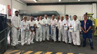 Nexa Autocolor forma al equipo de Suministros Generales de Pintura JAG