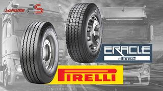 Safame distribuirá las marcas Pirelli y Eracle de Camión en España y Portugal