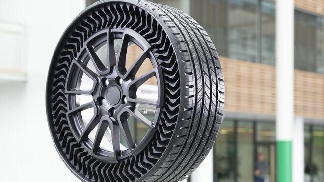 Michelin y General Motors apuestan por un neumático sin aire para el futuro