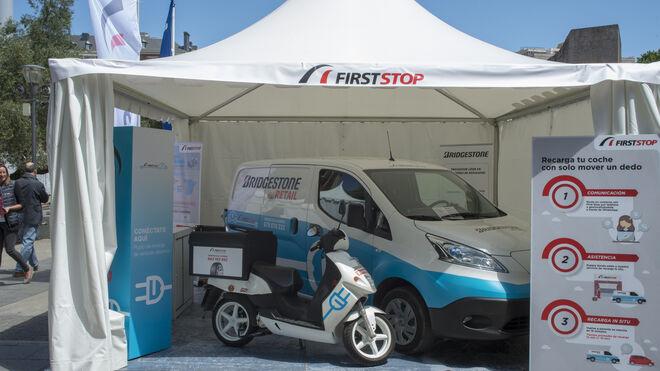 First Stop presenta su flota de asistencia eléctrica en la feria VEM2019 de Madrid