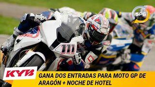 KYB y SPG Talleres sortean entradas para el Moto GP de Aragón