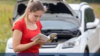 ¿Cómo ayuda el libro de mantenimiento del coche al profesional del taller ?