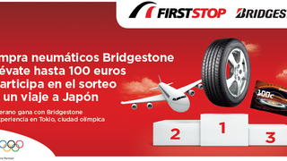 First Stop y Bridgestone sortean un viaje a Tokio en su campaña de verano