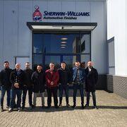 DeBeer Refinish imparte su primer curso en Holanda para técnicos españoles