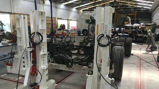 Cómo afrontar la reparación del chasis de un camión