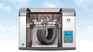 Impresión en 3D a partir de neumáticos usados