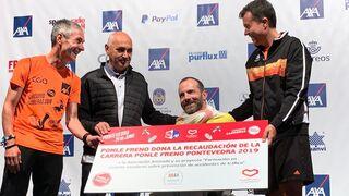 Ponle Freno reúne a más de 1.000 corredores en Pontevedra