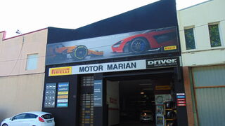 Motor Marian luce los colores de Driver Center