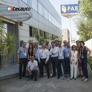 FAE recibe al Grupo Cecauto en sus instalaciones