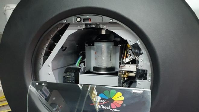 El taller Glasurit Motor Mecha ya utiliza la máquina de mezclas automática daisy wheel