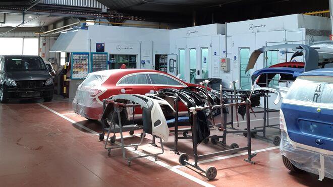 Motor Mecha, primer taller en usar la máquina de mezclas automática Daisy Wheel de Glasurit