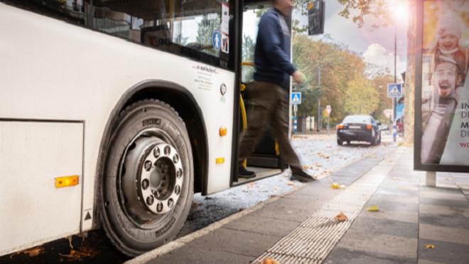 Giti lanza la nueva generación de neumáticos de invierno para autobuses urbanos