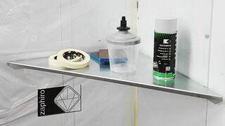 Zaphiro presenta su nueva bandeja magnética para la cabina de pintura