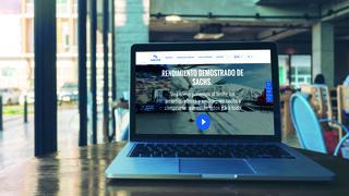 Sachs rediseña su web
