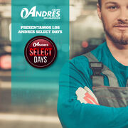 Neumáticos Andrés lanza sus 'Select Days'