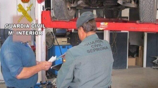 La Guardia Civil localiza dos talleres ilegales en A Coruña