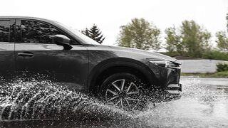 Adine recomienda revisar los neumáticos para evitar el 'aquaplaning'