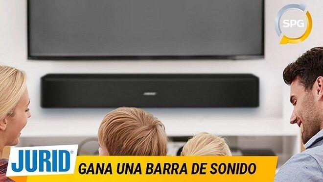 Jurid y SPG Talleres sortean tres barras de sonido para televisión