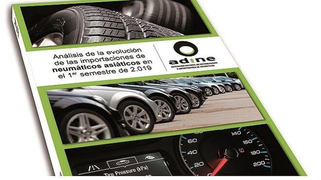 Las importaciones de neumáticos asiáticos cayeron  el 8,8% en el primer semestre de 2019