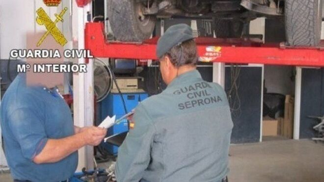 La Guardia Civil localiza dos talleres ilegales en Logroño