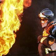 Incendio en un taller mecánico en el centro de Barcelona