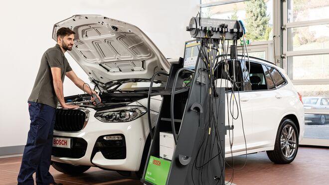 Bosch añade mejoras técnicas a su analizador FSA 740
