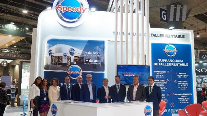 Speedy y su concepto de taller, presentes en FranquiShop Madrid