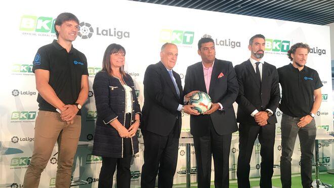 BKT une su imagen al fútbol español como patrocinador global de LaLiga