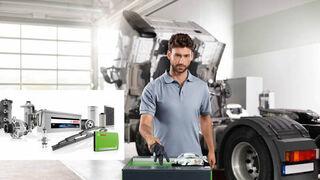 El vehículo industrial, protagonista de la nueva promoción de Bosch