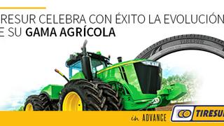 Éxito de la gama agrícola de Tiresur en sus primeros 18 meses en el mercado
