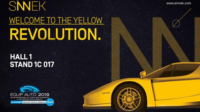 Sinnek estará presente en Equip Auto 2019