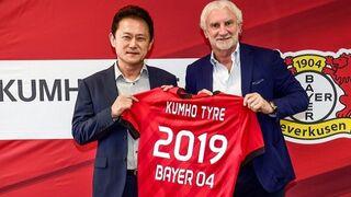 Kumho Tyre patrocina al Bayer 04 Leverkusen