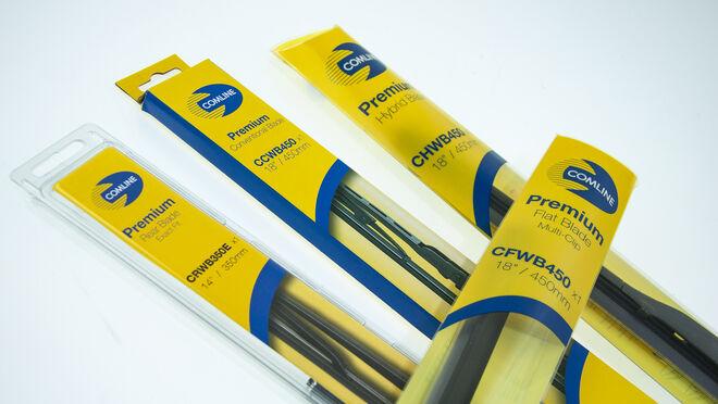 Comline ofrece a sus distribuidores descuentos del 10% en sus escobillas limpiaparabrisas