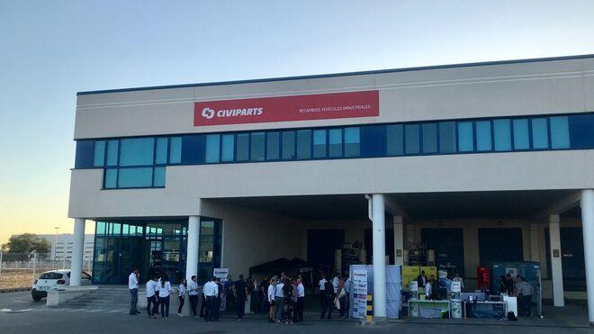 Civiparts España enseña su nueva sede central y almacén regulador