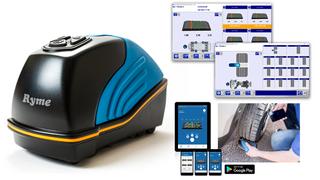 Ryme presenta su nuevo escáner 3D portátil de neumáticos