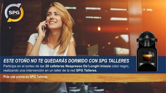 SPG Talleres regala cafeteras Nespresso a sus clientes