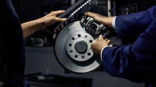 """Las marcas de freno de """"Elige calidad, elige confianza"""", con el vehículo del futuro"""