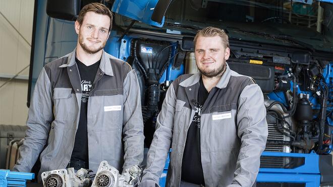 Cómo sustituir el motor de arranque de un camión