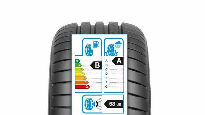 Séptimo aniversario de la etiqueta del neumático