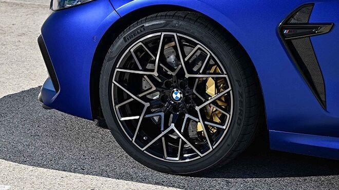 Pirelli ajusta las medidas de sus neumáticos P Zero para el nuevo BMW M8