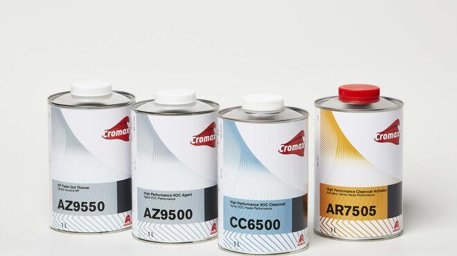 Cromax lanza su barniz VOC CC6500 de altos sólidos